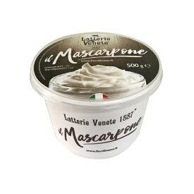 【冷蔵】Latterie Venete Mascarpone マスカルポーネ 500g |ラッテリエ カ フォルム ジャパン イタリア チーズ