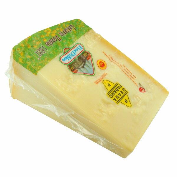 【冷蔵】 フィオルディマーゾ社 グラナ・パダーノ DOP 約1kg ブロック カット Grana Padano D.O.P. 1kg block cut FiordiMaso FDM 【16P03Nove15】
