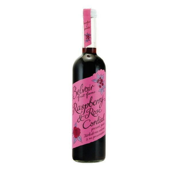 Tierra ティエラ コーディアル ラズベリー&ローズ 500ml Belvoir Raspeberry & Rose ユウキ食品【16P03Nove15】