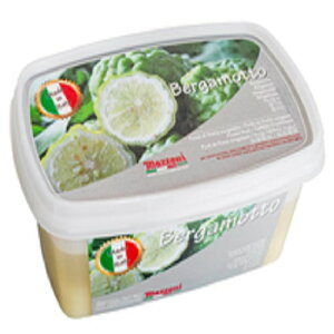 【冷凍】 マッツォーニ ベルガモット ピューレ 1kg イタリア産 無加糖