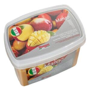 【冷凍】 マッツォーニ マンゴー ピューレ 1kg イタリア産