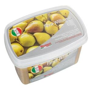 【冷凍】 マッツォーニ 洋なし ピューレ 1kg イタリア産