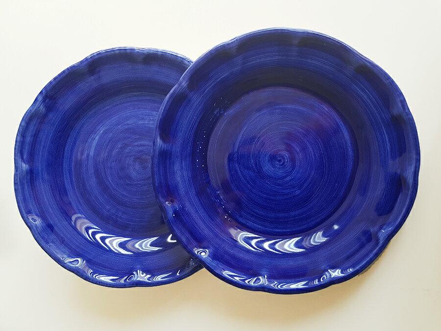 【皿以外同梱不可】展示用陶器 円形 20cm 2枚セット