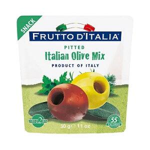 FRUTTO D'ITALIA フルットディタリア イタリアンオリーブミックス 種抜き 30g|おつまみ ワイン イタリア シチリア