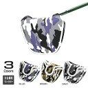 ゴルフ パターカバー パターヘッドカバー マレットタイプ 人気の迷彩柄3カラー *ピンタイプも販売してます。