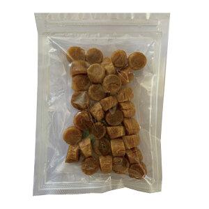 【限定品】帆立貝柱 青森産 100g 約30粒 ホタテ 干し貝柱 無添加 サイズ直径約1.5cm