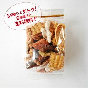お好みかりんとう 駄菓子  おやつ お茶の時間に ポリポリ食べられる 黒糖 胡麻 青海苔  いろいろな味が楽しめる 懐かしい 堅くない お買い得3袋セット 送料無料6袋セッ