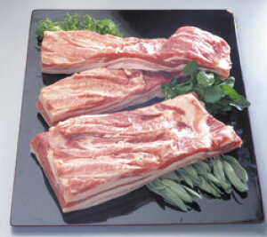 豚バラブロックハーフ1ブロック2kg 輸入 豚 生肉類【冷凍食品】【業務用食材】【10800円以上で送料無料】
