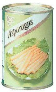 アスパラガス4号缶 天狗 野菜 野菜類 【常温食品】【業務用食材】【10800円以上で送料無料】