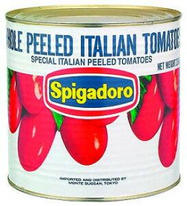 スピガドーロトマトホール1号缶 モンテ ホールトマト トマトソース 洋風調味料 【常温食品】【業務用食材】【10800円以上で送料無料】