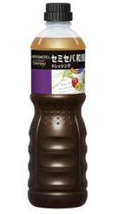 セミセパ和風ドレッシング1L 味の素 ドレッシング 洋風調味料 【常温食品】【業務用食材】【10800円以上で送料無料】