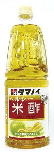 ヘルシー米酢PE1.8L タマノイ 酢・みりん 和風調味料 【常温食品】【業務用食材】【10800円以上で送料無料】