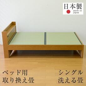 畳ベッド ベッド畳 シングルベッド用 取り換え畳 樹脂 畳2枚1セット 日本製 1年間保証 【ベッド用取り換え畳 洗える畳 樹脂畳】 おすすめ ベッド用畳 オーダーサイズ オーダーメイド 送料無料