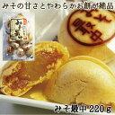 \150円&50円OFFクーポン有/餅入りみそ最中220g 信州ハナマルキみそを使用したみそ餡とやわらかお餅を、味噌風味の…