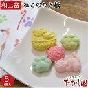 さぬき和三盆糖 ねこのたと紙 ばいこう堂 茶道 干菓子 四国 お土産 猫 プチギフト 御礼