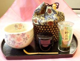 【茶道具】抹茶碗が選べる野点セット(送料込)