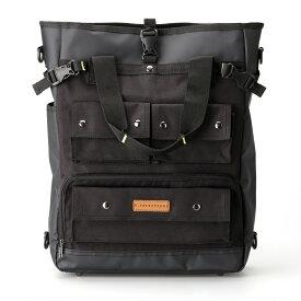 T-SELECTIONS ビジネスバッグ 3WAY [トートバッグ・ショルダーバッグ・デイパック] 2階建て構造の縦型トートバッグをそのままスーツケースにキャリーオン!前持ち可能
