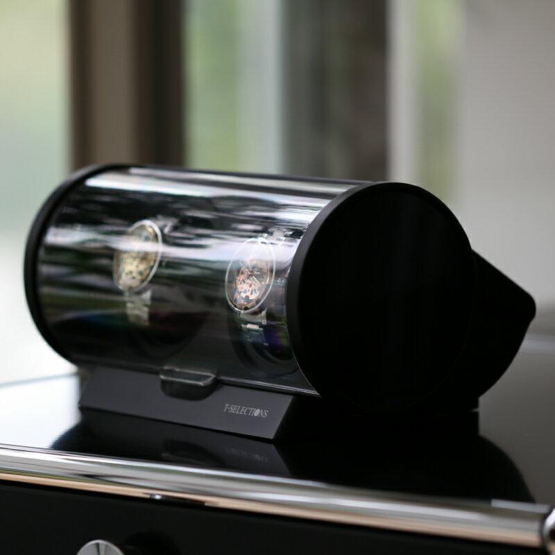 2本巻きワインディングマシーン レビューを書いて半年延長保証 [送料無料] T-SELECTIONS 2本巻き ワインディングマシーン T-005120 1年保証