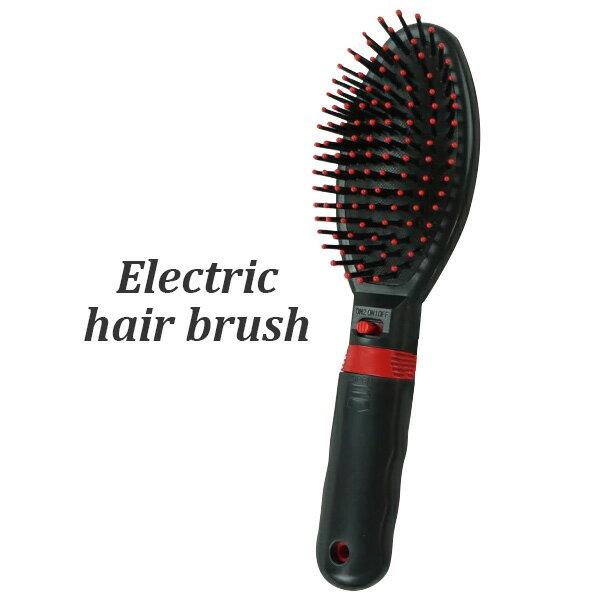 電動ヘアブラシ 段階の振動で心地良い刺激で頭皮をマッサージ エレクトリックヘアブラシ