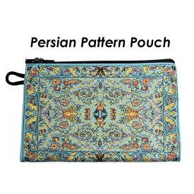 小物入れポーチ ペルシャ・トルコ絨毯柄の丈夫な小物入れ 小銭入れ コインケース 1000円ポッキリでお届け