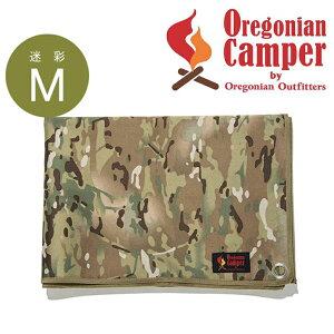 オレゴニアンキャンパー Oregonian Camper 防水グランドシート (Mサイズ/140×100cm) <マルチカモ>7OCA-711 レジャーシート ピクニック ランチ キャンプ アウトドア ソロキャン