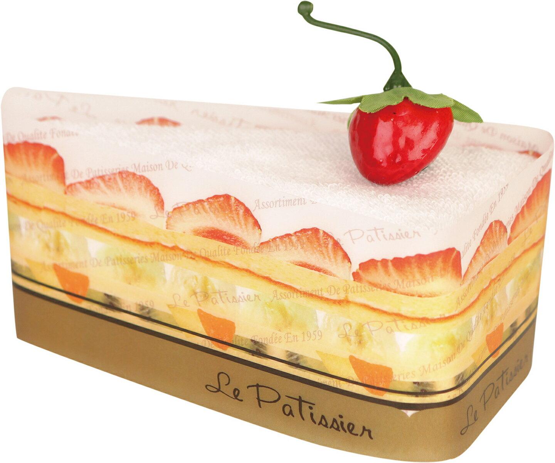 プレーリードッグ トライアングルケーキ バニラ LPSR-7026【あす楽対応】【今治タオル】【ケーキタオル】【上質な肌触り】【日本製】【タオルギフト】【プチギフト】【簡易ラッピング済】 見た目に美味しく、貰って嬉しいタオルギフト。 お返しにぴったりのプチギフト。