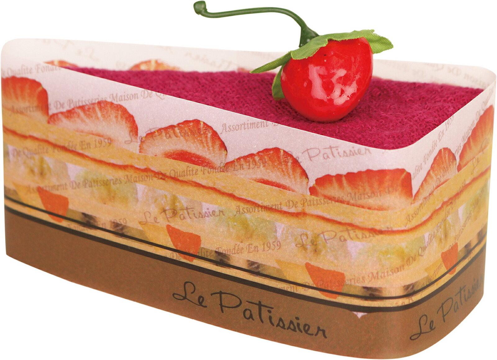 プレーリードッグ トライアングルケーキ クランベリー LPSR-7027【あす楽対応】【今治タオル】【ケーキタオル】【上質な肌触り】【日本製】【タオルギフト】【プチギフト】【簡易ラッピング済】 見た目に美味しく、貰って嬉しいタオルギフト。 PRAIRIE DOG