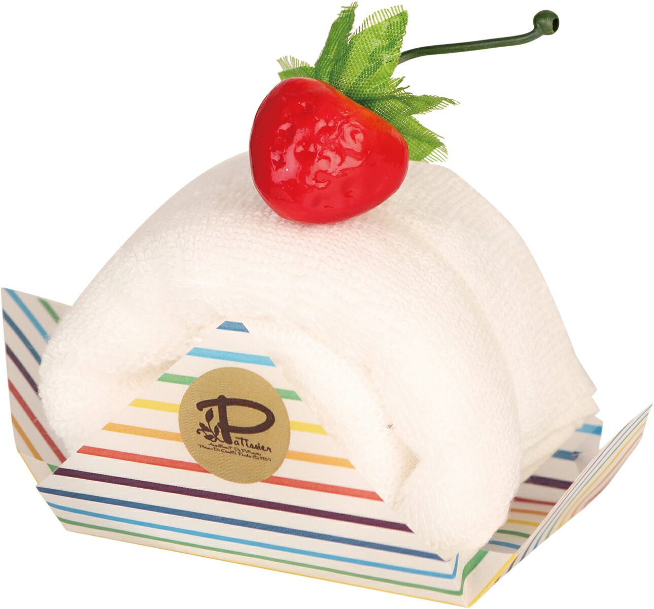 プレーリードッグ ロールケーキ バニラ LPSR-7046【あす楽対応】【今治タオル】【ケーキタオル】【上質な肌触り】【日本製】【タオルギフト】【プチギフト】【簡易ラッピング済】 見た目に美味しく、貰って嬉しいタオルギフト。 お返しにぴったりのプチギフト。