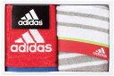 adidas アディダス リスト タオルハンカチ2P 赤 レッドスポーツ大会 マラソン大会 お返し ゴルフコンペ景品 …