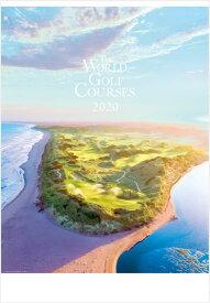 特大サイズ 世界のゴルフ場 カレンダー 2020年カレンダー カレンダー2020 壁掛けカレンダー カレンダー 2020 壁掛け ゴルフ