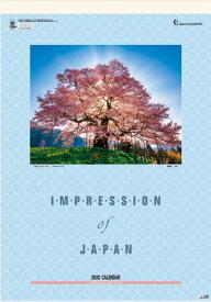 カレンダー 2020 壁掛け 風景 大判サイズ インプレッション・オブ・ジャパン 日本風景カレンダー 2020年カレンダー 令和2年 壁掛けカレンダー