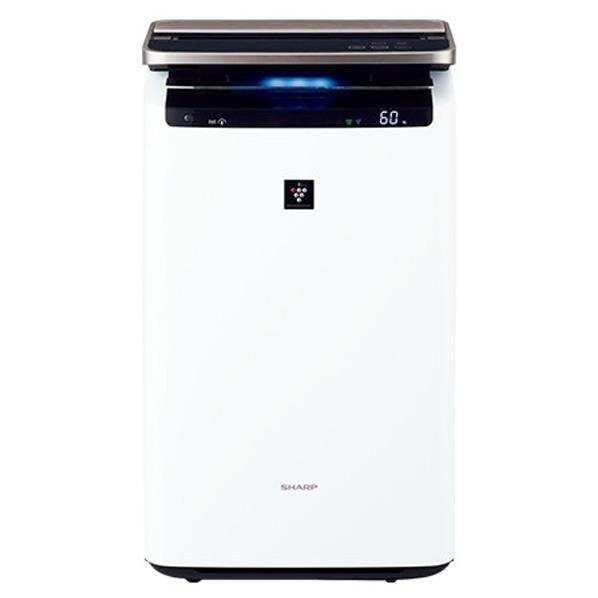 シャープ KI-HP100-W 加湿空気清浄機(空清46畳まで/加湿26畳まで ホワイト系) SHARP 「高濃度プラズマクラスターNEXT」搭載 [KIHP100W]
