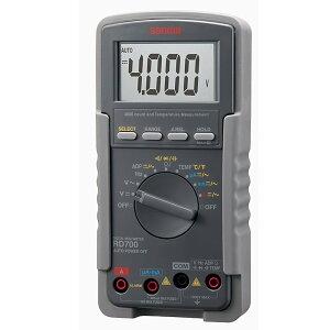 【送料無料!デジタルテスター・デジタルマルチメーターが格安特価】SANWA デジタルマルチメータ RD700 [325-8742] 【電気測定器・テスタ】[RD700]