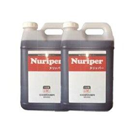 コスケム 高圧洗浄向け 強力床洗剤ヌリッパー 19L(9.5Lx2本組)