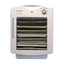 【送料無料】テクノス TEKNOS TS-902S-W 遠赤外線ヒーター加湿器つき (TS902SW)