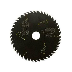 【限定特価!】HiKOKI(旧日立工機) スーパーチップソー 黒鯱(クロシャチ) 125mm 0037-6199 集成材・一般木材用 ※写真は代表画像です