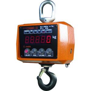 【メーカー直送 代引不可】SHUZUI 携帯型電子式吊秤 ハンディコスモ2 秤量1t 国家検定付 1ACBP-K 【はかり】[208-3103]