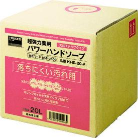 【送料無料】TRUSCO 薬用超強力ハンドソープ 20L[KHS-20-A](858-0609)