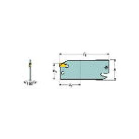 サンドビック T−Max Q−カット 突切り用ブレード 151.22525 [131-8152] 【TA式旋削工具】[151.2-25-25]