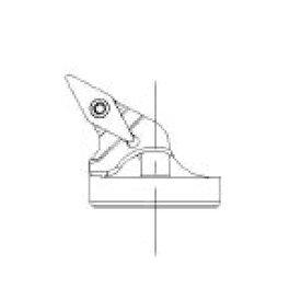 サンドビック コロターンTR コロターンSL用570カッティングヘッド TRSLV13PBR32 [358-4569] 【TA式旋削工具】[TR-SL-V13PBR-32]