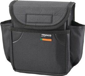 【送料無料!TRUSCO工具が安い(トラスコ中山)】TRUSCO 小型腰袋 二段フタ付 ブラック TC52BK [352-4604] 【ツールホルダ・バッグ】[TC-52BK]