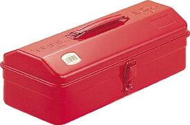 【送料無料!工具箱が超安い!】TRUSCO 山型工具箱 373X164X124 レッド Y350R [120-8110] 【スチール製工具箱】[Y-350-R]