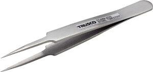 【送料無料!TRUSCO工具 激安特価(トラスコ中山)】TRUSCO 高精度ステンレス製ピンセット 115mm 非磁性 極細鋭型 TSP74 [270-9244] 【ピンセット】[TSP-74]