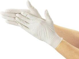 TRUSCO 使い捨て極薄手袋 100枚入 S ホワイト TGL493S [330-3659] 【使い捨て手袋】[TGL-493S]