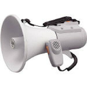 【送料無料!TRUSCO工具が安い(トラスコ中山)】TOA 中型ショルダー型メガホン ホイッスル音付き ER2115W [290-4594] 【拡声器】[ER-2115W]