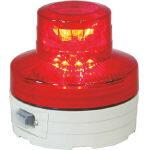 【送料無料!TRUSCO工具が安い(トラスコ中山)】日動 電池式LED回転灯ニコUFO 常時点灯タイプ 赤 NUAR [356-1313] 【工事灯】[NU-AR]