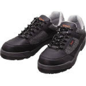 【送料無料!作業靴がお買い得価格】シモン プロスニーカー 短靴 8811ブラック 24.5cm 8811BK24.5 [325-5450] 【作業靴】[8811BK-24.5]