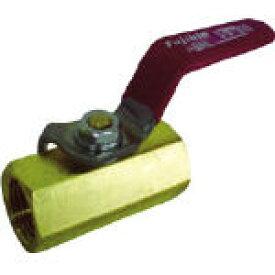 フジキン 黄銅製1.96MPaミニボール弁15A(1/2) DBV12DR [365-5105] 【継手】[DBV-12D-R]