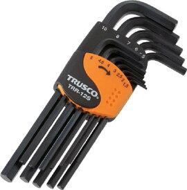 【送料無料!六角レンチ(六角スパナ)が格安価格】TRUSCO 六角棒レンチセット 標準タイプ 12本組 TRR12S [366-9319] 【六角棒レンチ】[TRR-12S]