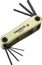 【送料無料!六角レンチ(六角スパナ)(十得ナイフ型)がお買い得価格】TRUSCO ボールポイント六角棒レンチセット ナイフ式 TNB7S [366-8975] 【六角棒レンチ】[TNB7S]